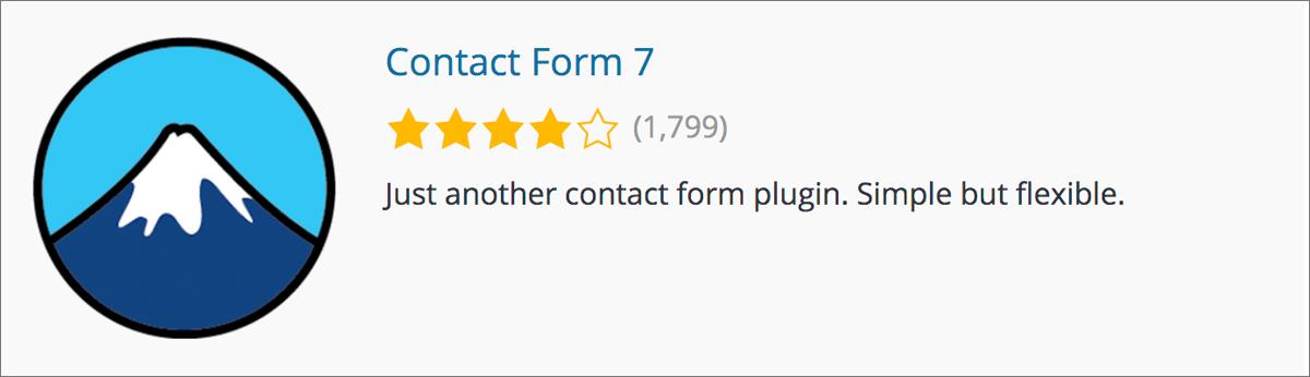 ワードプレスブログのプラグイン初心者向け【おすすめ11選】Contact Form 7