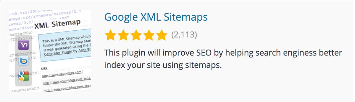 ワードプレスブログのプラグイン初心者向け【おすすめ11選】Google XML Sitemaps