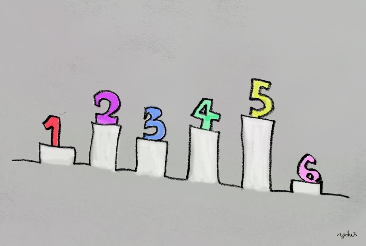 配色を決める際に知っておきたい6つの対比現象